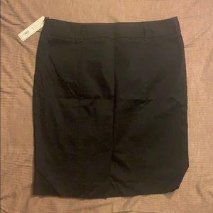 APT 19 Black Pencil Skirt, Size 12 NWT